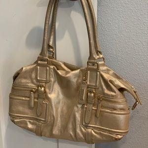 Cole Haan Gold Handbag